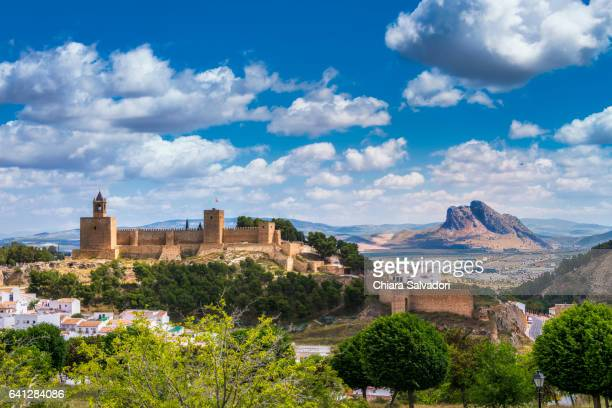 A panoramica view of Antequera, Andalusia