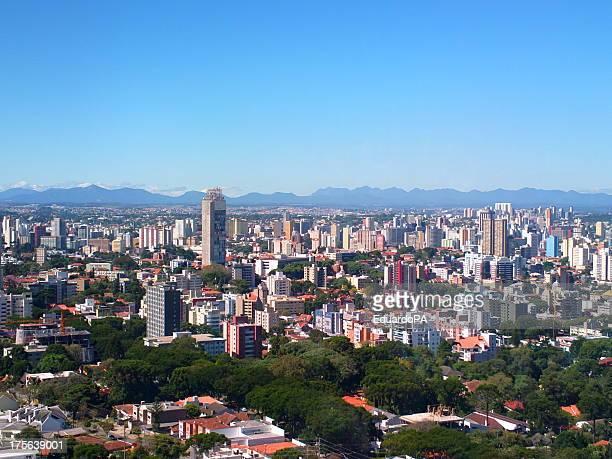 panorâmica de curitiba - paraná - curitiba stock pictures, royalty-free photos & images