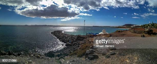 Panorámica en Playa Blanca, Lanzarote