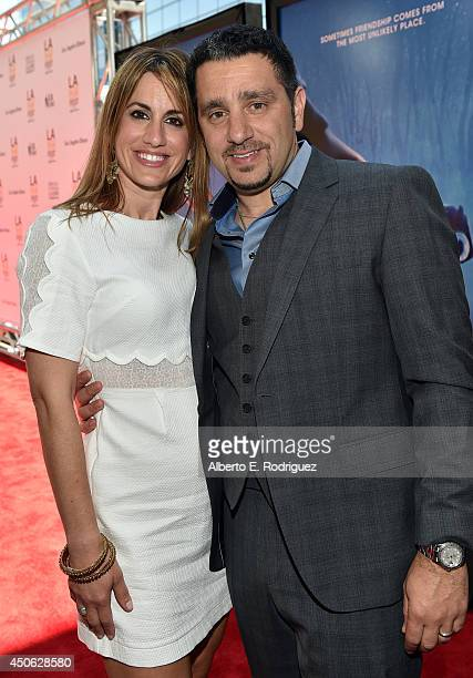 """Panos Panay attends the premiere of """"Earth to Echo"""" during the 2014 Los Angeles Film Festival at Premiere House on June 14, 2014 in Los Angeles,..."""