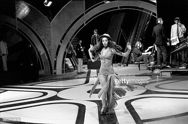Pans People dancer Cherry Gillespie April 1975 752128009