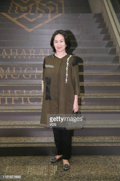 Pansy Ho daughter of Hong Kong and Macaubased businessman Stanley Ho attends an auction activity on May 24 2019 in Hong Kong China