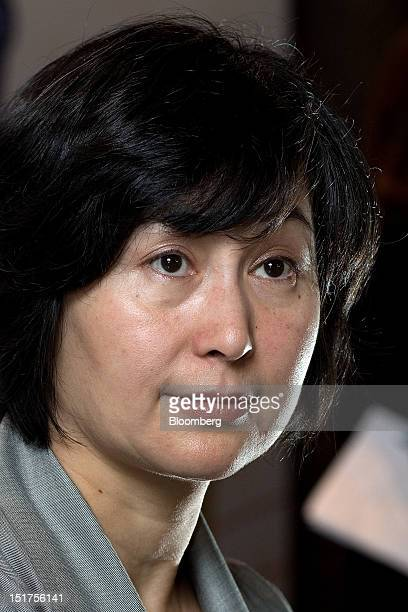 Pansy Ho managing director of Shun Tak Holdings Ltd and cochairman of MGM China Holdings Ltd attends a group interview in Macau China on Tuesday Sept...