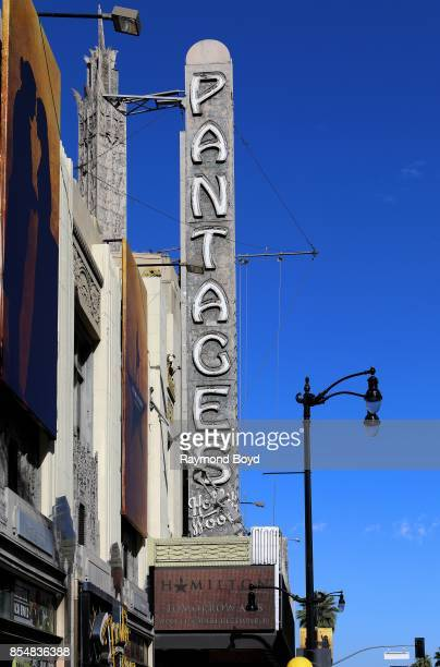 Pantages Theater in Los Angeles California on September 11 2017