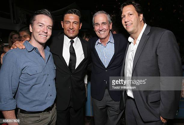Pantelion COO Edward Allen Fernando Colunga Producer James McNamara and Pantelion CEO Paul Presburger attend the after party for Pantelion Films'...