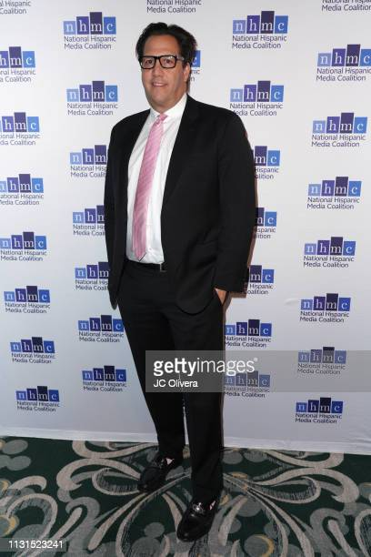 Pantelion Films CEO Paul Presburger attends the 22nd Annual National Hispanic Media Coalition Impact Awards Gala at Regent Beverly Wilshire Hotel on...