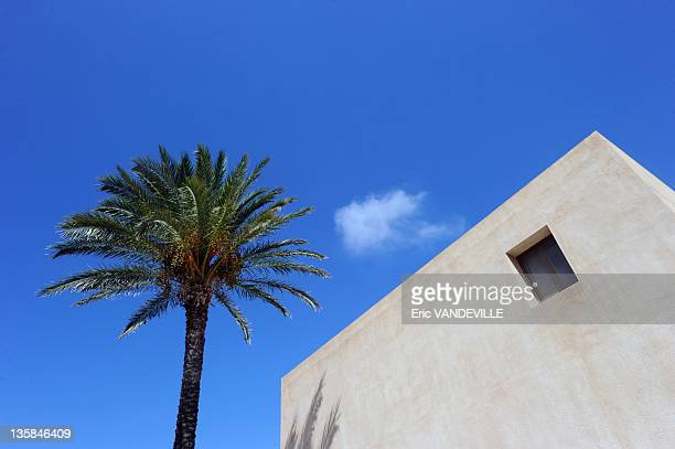 Pantelleria tiny island at south of Sicily on september 5 2011 in Pantelleria Italy The 'Donna Fugata' wineyard Pantelleria is the largest of the...