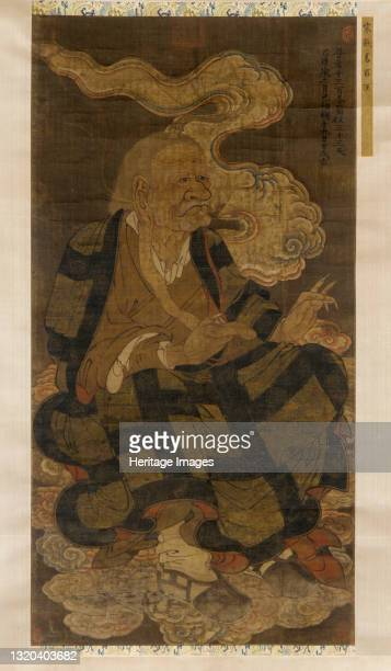Panthaka, the Tenth Venerable Luohan, 1345. Formerly attributed to Qian Yi. Artist Unknown.