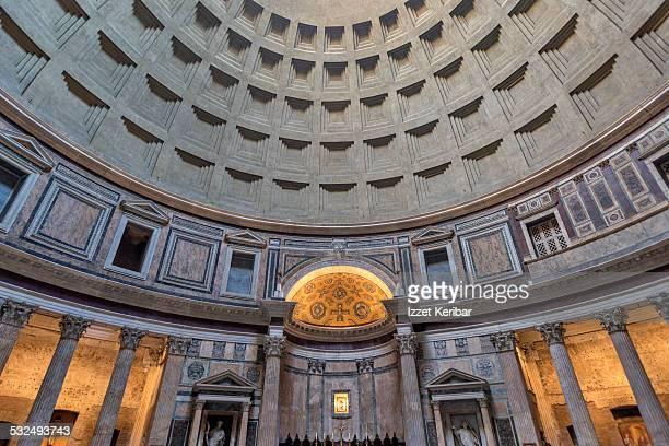 pantheon church at rome, italy - pantheon roma foto e immagini stock