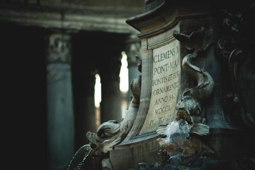 Pantheon fountain - gettyimageskorea