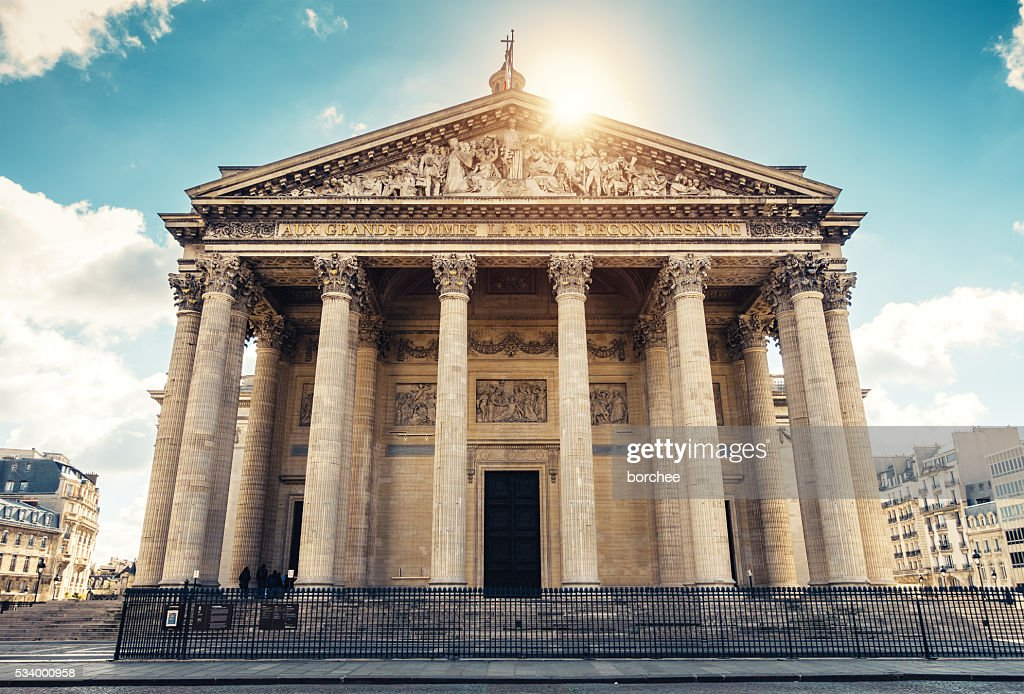 Pantheon-Paris : Stock-Foto