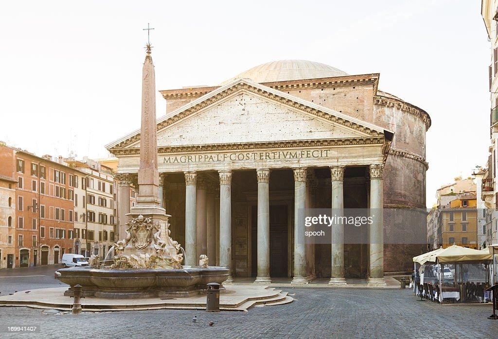 Pantheon in Rome : Stock Photo