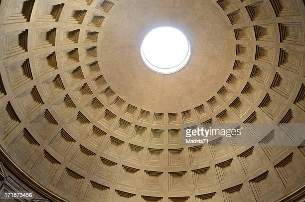 pantheon a roma - pantheon roma foto e immagini stock