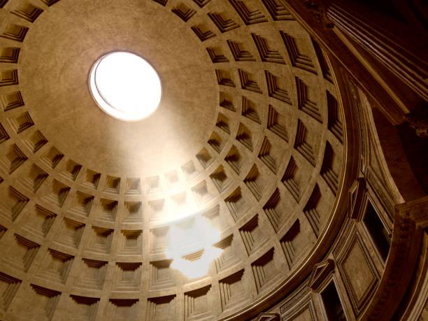 Pantheon, interior. Rome, Italy