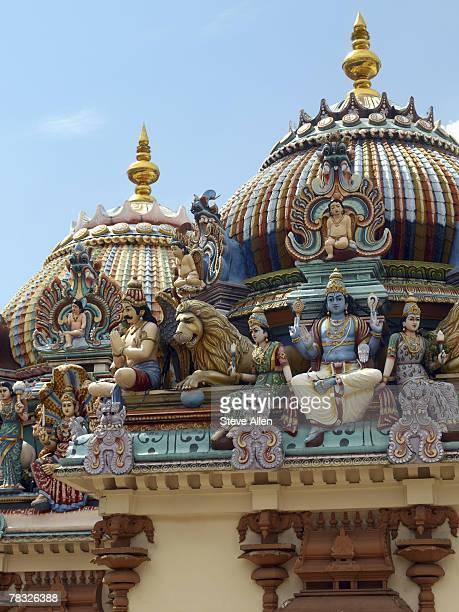 Pantheon on Sri Mariamman Hindu Temple