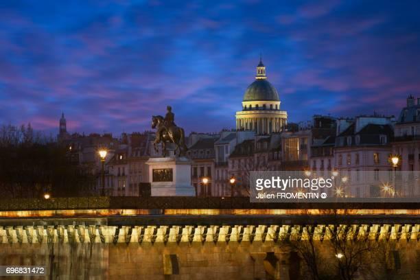 pantheon, paris - henri iv of france stock pictures, royalty-free photos & images