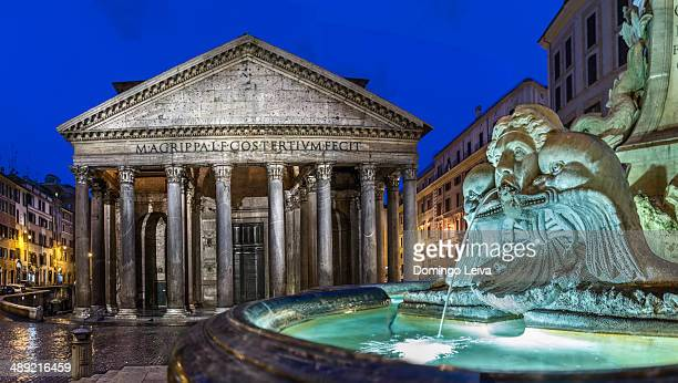 pantheon (rome, italy) - pantheon rome stock photos and pictures