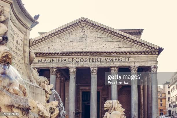 pantheon - petra invernizzi foto e immagini stock