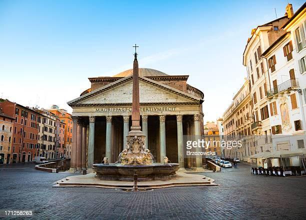 pantheon, rome - pantheon rome stock photos and pictures