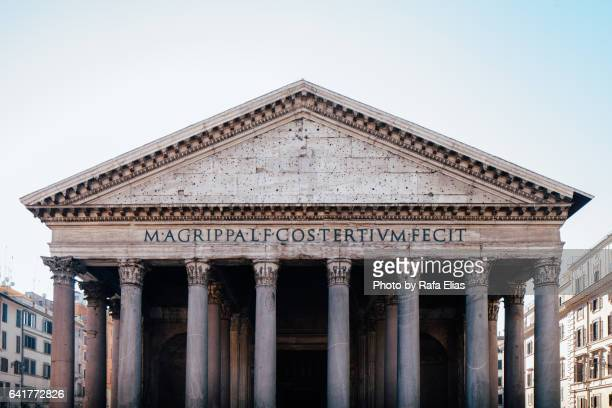 pantheon, rome (italy) - pantheon rome stock photos and pictures