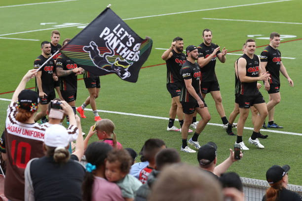 AUS: Penrith Panthers Training Session