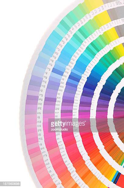 Pantone échantillon de livre-couleur carte