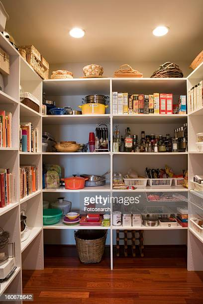 pantry detail - food pantry stock pictures, royalty-free photos & images