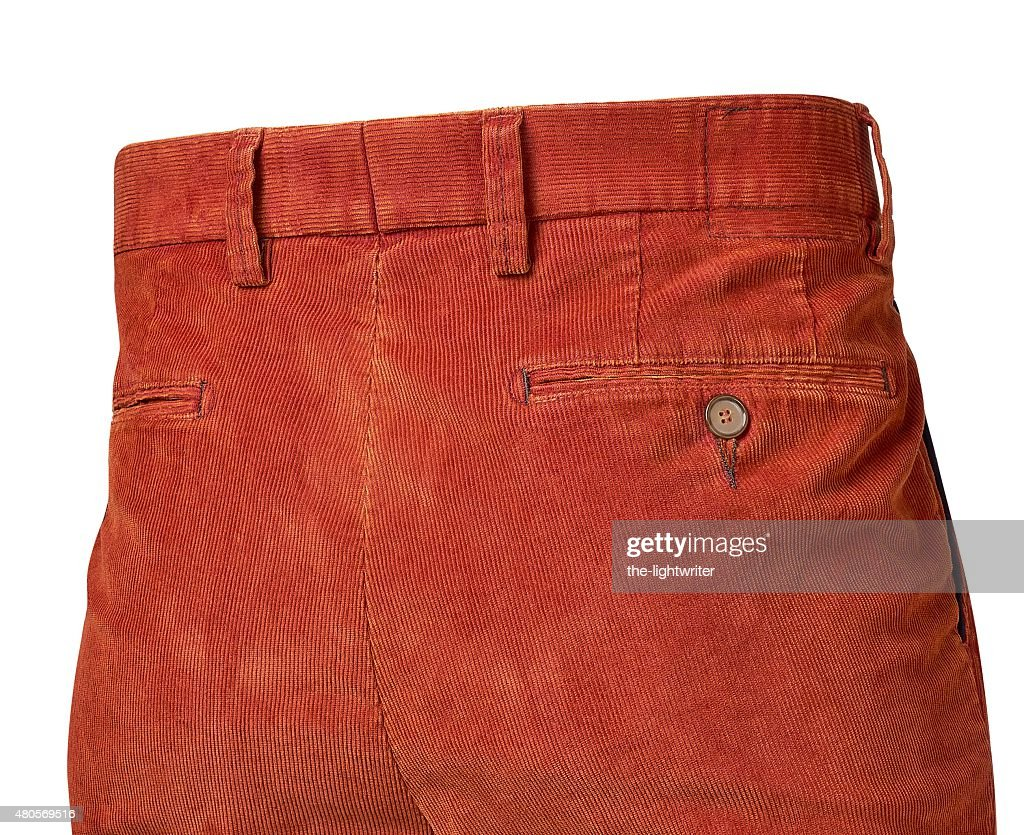 pants for men isolated on white with clipping path : Stock Photo