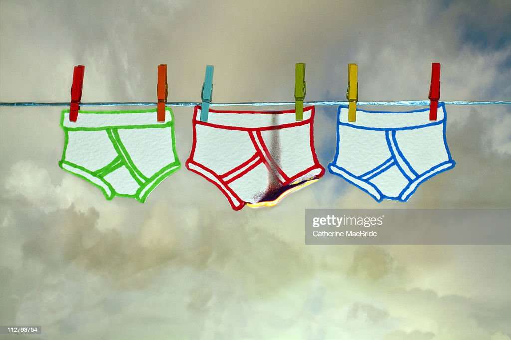 Pants on fire : Stock Photo
