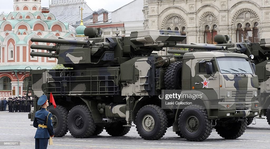 Pantsir-S anti-aircraft weapons system  Russian military