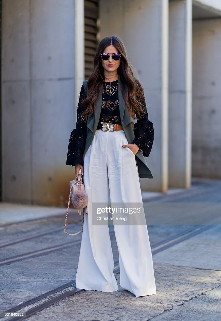 Street Style - Mercedes-Benz Fashion Week Australia 2016 : News Photo