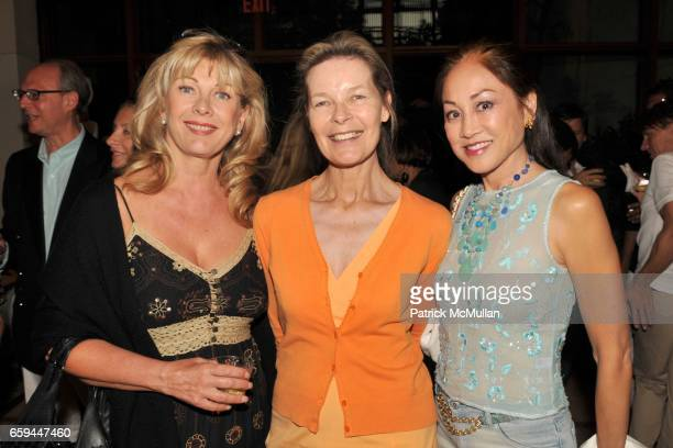 Paola Bacchini Mona Arnold and Lucia Hwong Gordon attend A Special Preview Screening of A PASSION FOR GIVING A Film by ROBIN BAKER LEACOCK at Ross...