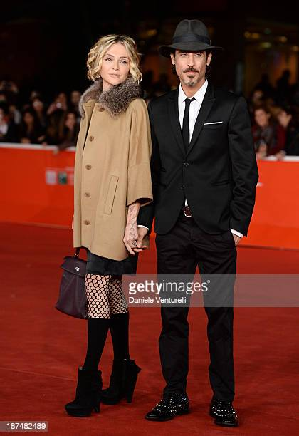 Paola Barale and Raz Degan attend the 'Dallas Buyers Club' Premiere during The 8th Rome Film Festival on November 9, 2013 in Rome, Italy.