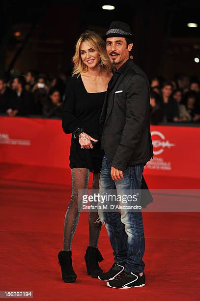 Paola Barale and Raz Degan attend 'The Lookout' Premiere during the 7th Rome Film Festival at the Auditorium Parco Della Musica on November 12, 2012...