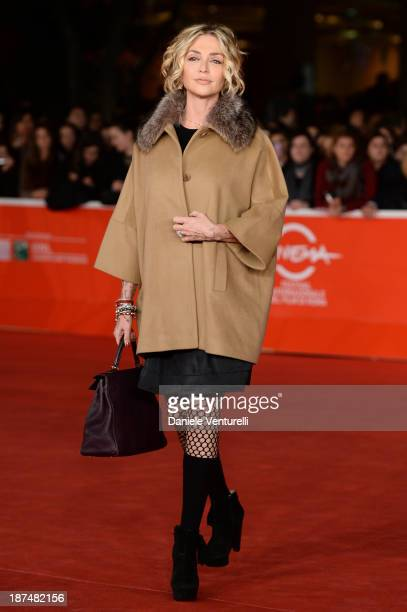 Paola Barale attends 'Dallas Buyers Club' Premiere during The 8th Rome Film Festival on November 9 2013 in Rome Italy