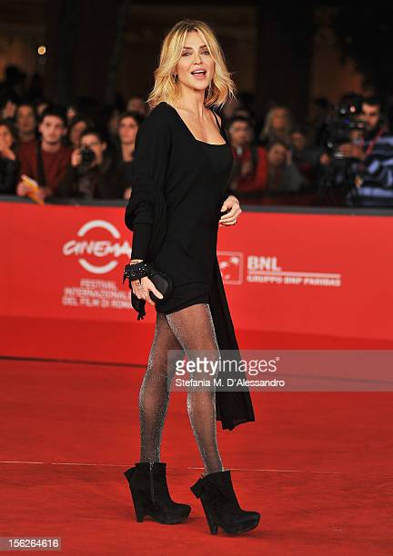 Paola Barale attends 'The Lookout' Premiere during the 7th Rome Film Festival at the Auditorium Parco Della Musica on November 12 2012 in Rome Italy