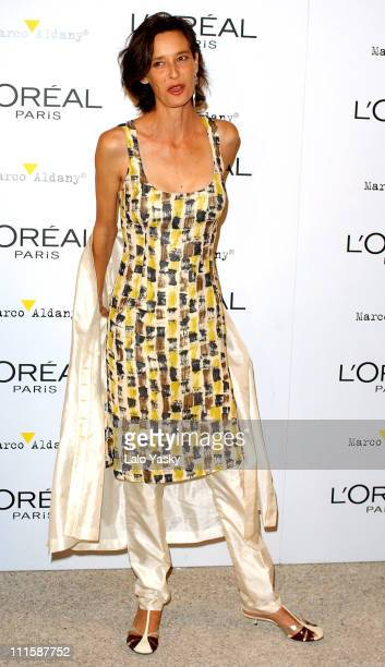 Paola Bose during Natalie Imbruglia Hosts L'Oreal Party to Celebrate Pasarela Cibeles Fashion Week at Museo del Traje in Madrid Spain