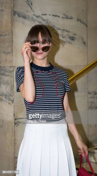 Paola Calliari attends a photocall for 'The Startup'