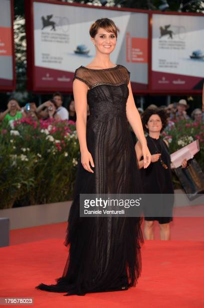Paola Cortellesi attends La Jalousie Premiere during the 70th Venice International Film Festival at the Sala Grande on September 5 2013 in Venice...
