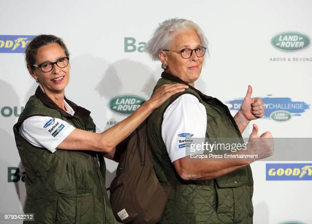 Paola Dominguin and Lucia Dominguin attend Land Rover Discovery Challenge presentation on June 20 2018 in Madrid Spain