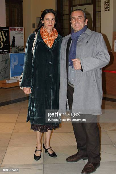 Paola Dominguin attends Lucia Bose' 80th birthday party at Circulo de Bellas Artes on January 28 2011 in Madrid Spain