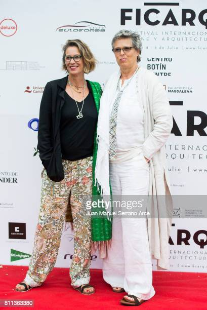 Paola Dominguin Bose and Lucia Dominguin Bose attends FICARQ 2017 Photocall at Palacio de Magdalena on July 8 2017 in Santander Spain
