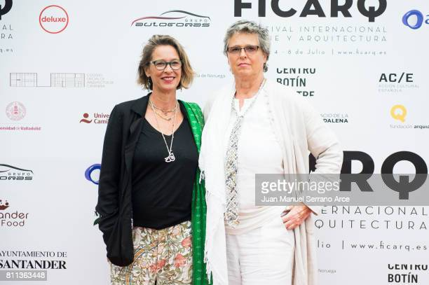 Paola Dominguin Bose and Lucia Dominguin Bose attends FICARQ 2017 Photocall at Palacio de Magdalena on July 8, 2017 in Santander, Spain.