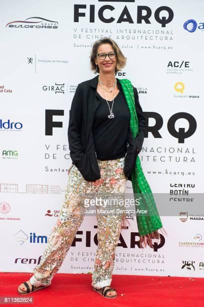 Paola Dominguin Bose attends FICARQ 2017 Photocall at Palacio de Magdalena on July 8 2017 in Santander Spain