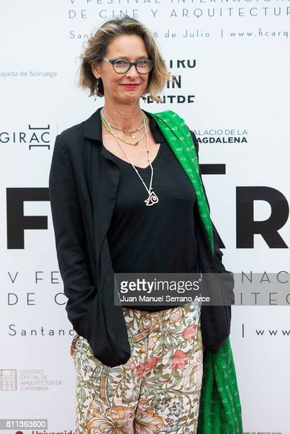 Paola Dominguin Bose attends FICARQ 2017 Photocall at Palacio de Magdalena on July 8, 2017 in Santander, Spain.