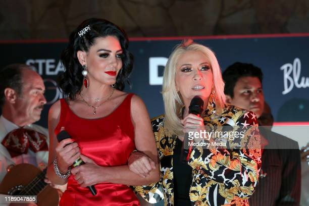Paola Durante and Yuri attends Paola Durante Presentation of Her Book 'No todo es color de rosa' on November 20 2019 in Mexico City Mexico