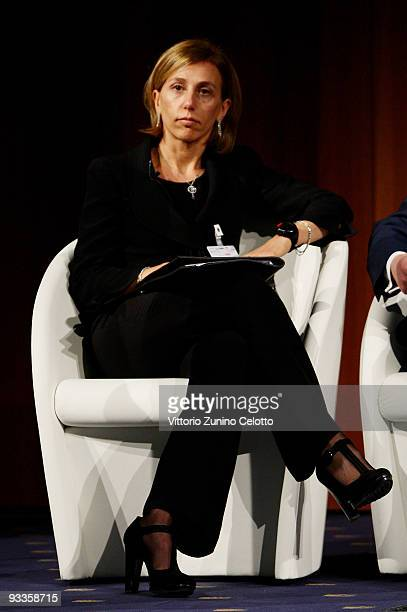 Paola Durante attends the 2009 Milan Fashion Global Summit on November 24 2009 in Milan Italy The Summit gathers company leaders and top management...