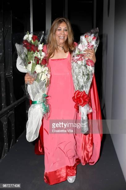 Paola Emilia Monachesi attends Sfilata AU197SM AltaRoma on June 29 2018 in Rome Italy