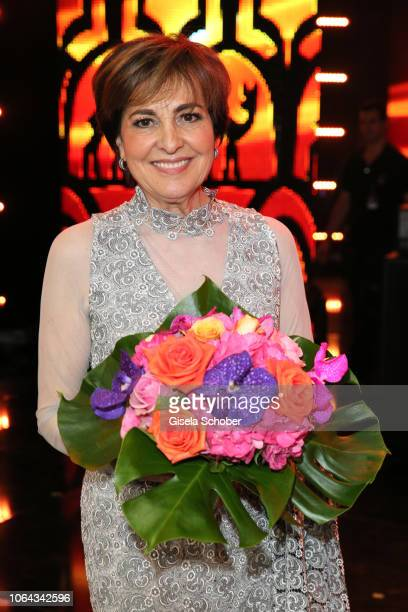 Paola Felix during the Bambi Awards 2018 final applause at Stage Theater on November 16 2018 in Berlin Germany