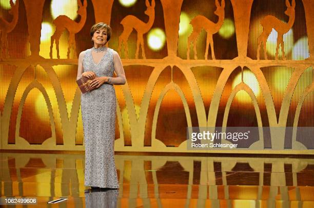 Paola Felix on stage during the 70th Bambi Awards show at Stage Theater on November 16 2018 in Berlin Germany